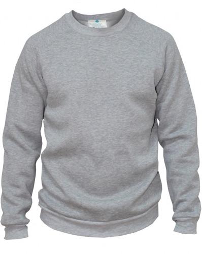 3d2249b3c1e Толстовка мужская серая (спортивная кофта) купить недорого, цена, фото и  описание | Интернет магазин Амулет